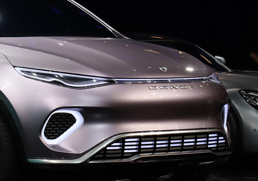 深港澳车展:腾势Concept X概念车首发