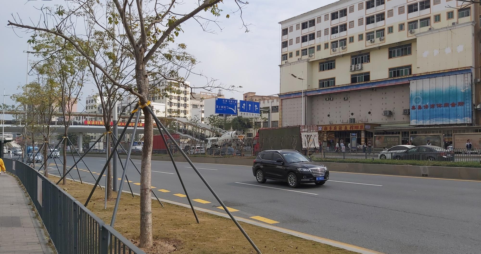 深圳富士康周边的风光杂谈