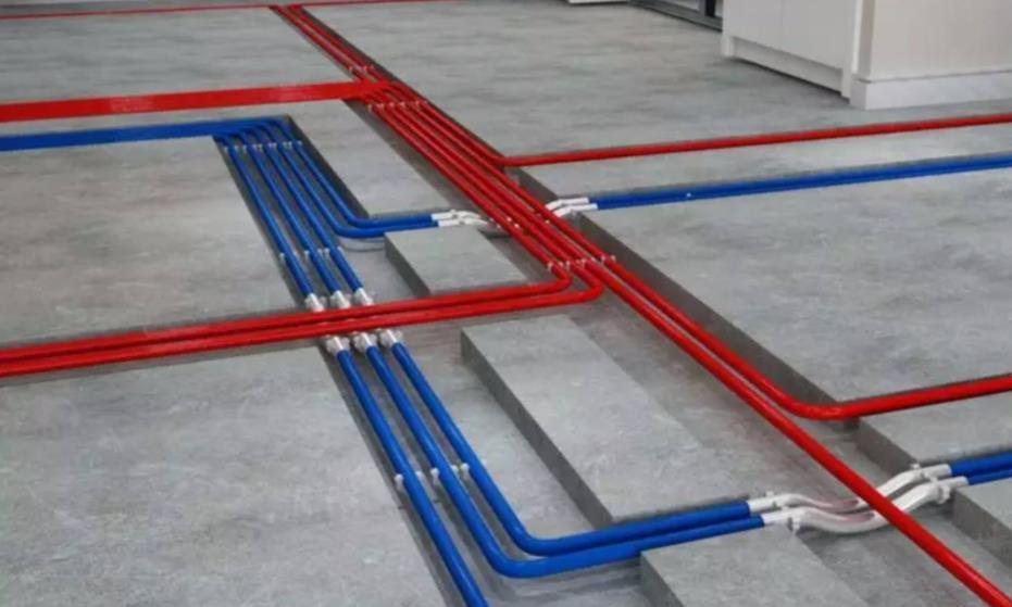 只是一根水电线管,业主却如此的纠结,不过最后想明白了