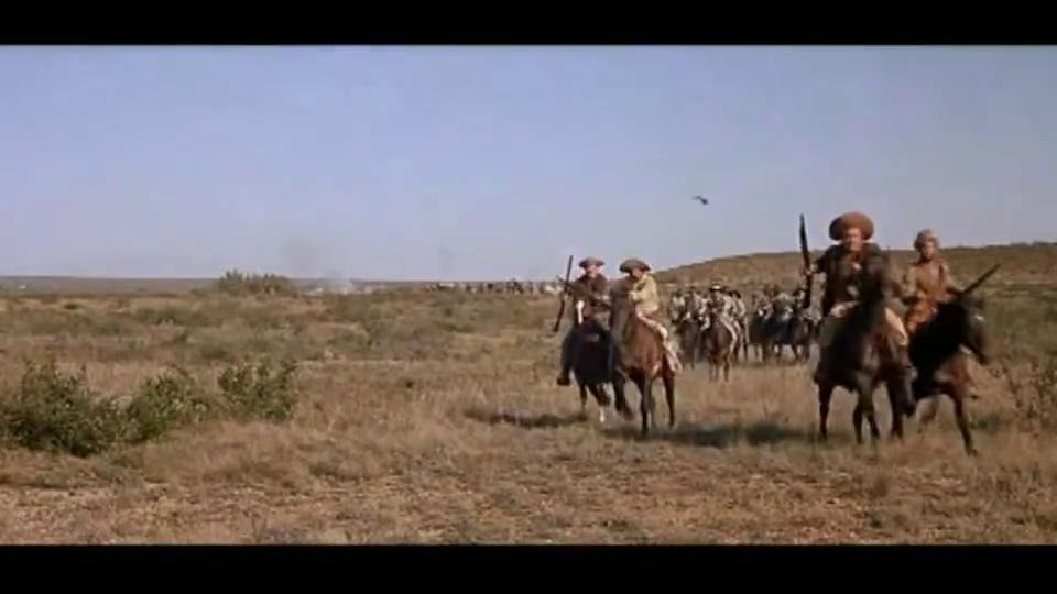 西部战争史诗大片,美军对抗墨西哥军队,死守城池浴血奋战