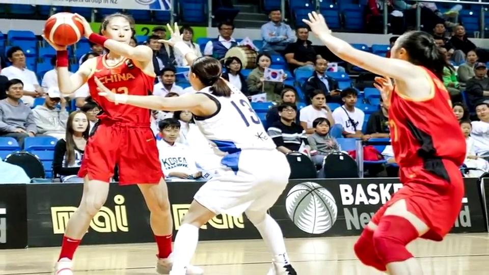 惜败韩国后大胜新西兰和菲律宾中国女篮争奥运门票难度不大
