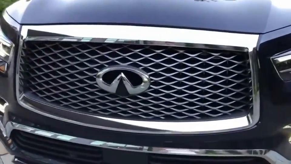 视频:英菲尼迪QX80太美了,霸气中蕴藏着奢华!