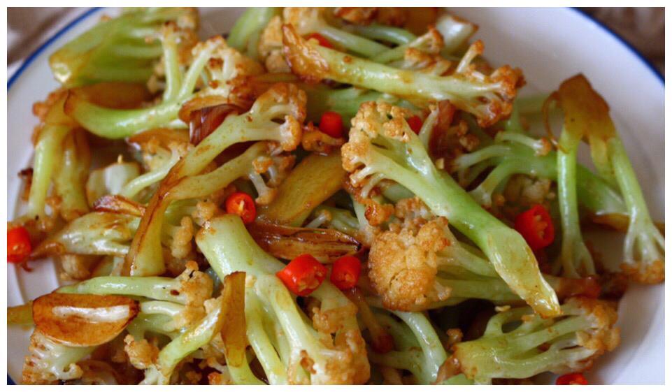 无敌入味菜,超下饭,超好吃的干锅用品,简单花菜,好吃到舔盘小女易学物品高中生住宿图片