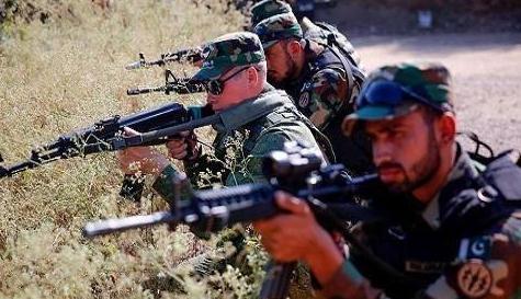 巴基斯坦和阿富汗军队在杜兰德线交火