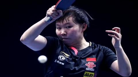 朱雨玲4-1击败王曼昱 成功夺得T2钻石赛女单冠军