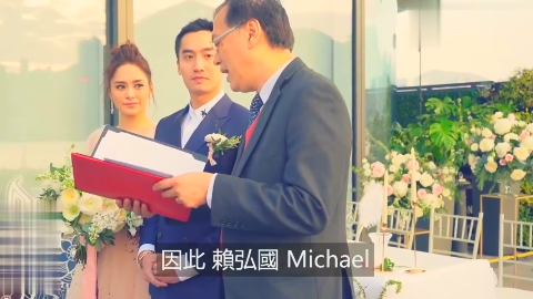 阿娇婚礼现场真是太浪漫了,容祖儿当伴娘送祝福