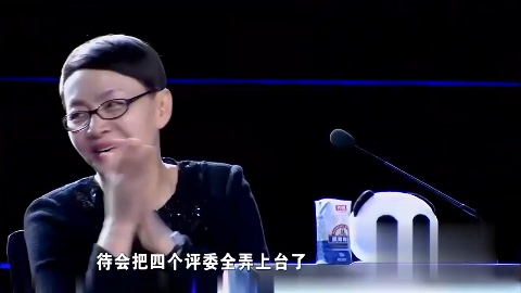 小丑现场表演绝技冯小刚都竖起大拇指真的太牛了