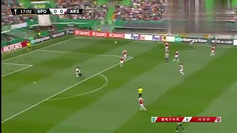 欧联:维尔贝克破门制胜,阿森纳1-0客胜葡萄牙体育!