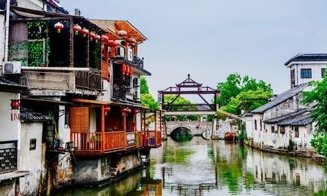 同里古镇是世界遗产,典型的江南水乡特色,小桥流水人家!