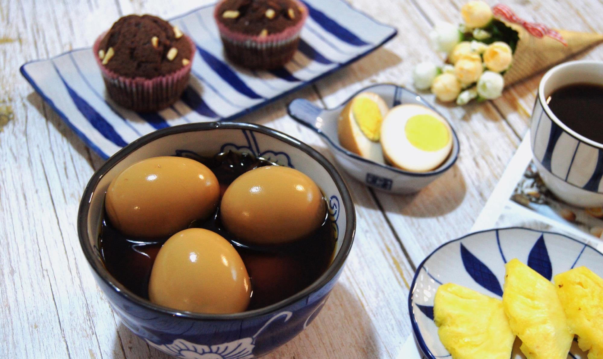 卤蛋在家做超简单,味醇香浓,长吃不厌,随吃随取超方便,快收藏