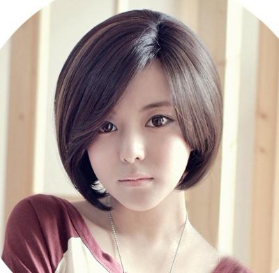 2019最新韩式短发发型图片 时尚修颜人见人爱.图片
