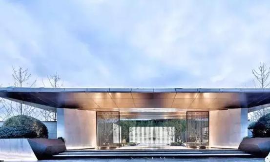 万科新中式合院,154平5房5卫,8米客厅,6.6米的卧房