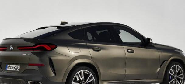 宝马X6首次换代,运动款风格又回来了,车迷:大嘴有些夸张!