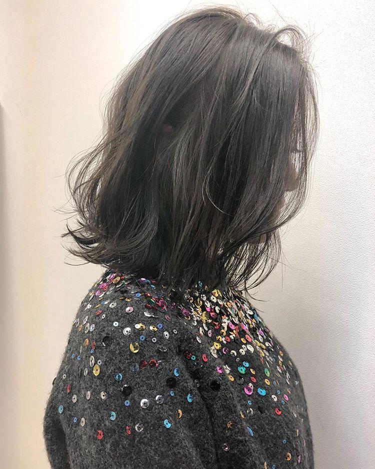 烫发尾的发型,时尚又流行图片