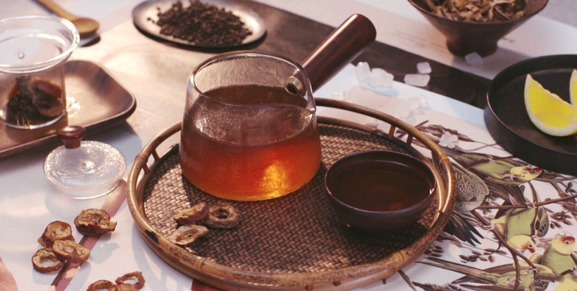 春日凉茶,山楂决明子茶,降火瘦身就喝它!