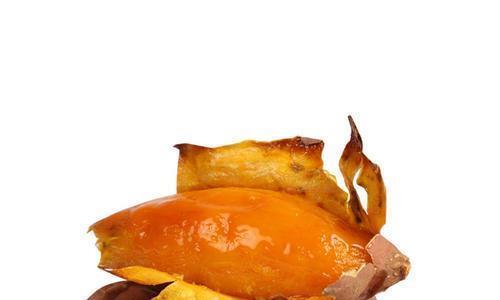 去皮烤红薯,冰冻地瓜,夏季满满的幸福感