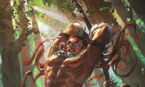 三国杀:武将沙摩柯体验 石锤野人版的刘焉
