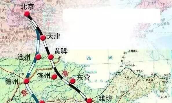京沪高铁二线将要动工,共计经过5个省市,串联3大直辖市