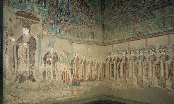 敦煌壁画中的于阗国王