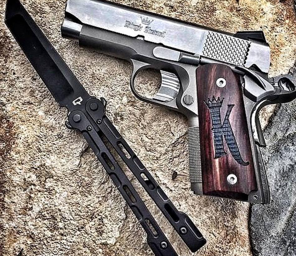 轻武器欣赏系列,经典的手枪之所以经典,颜值一定是其中重点