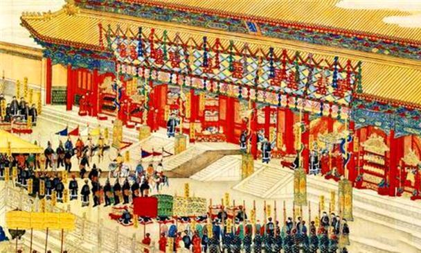 清朝皇宫的过年流程,皇帝要给众臣发红包,红包里面不是钱财