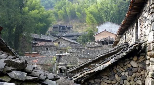 探村浙江缙云|岩背古村,藏在括苍山脉中的静美石头村落