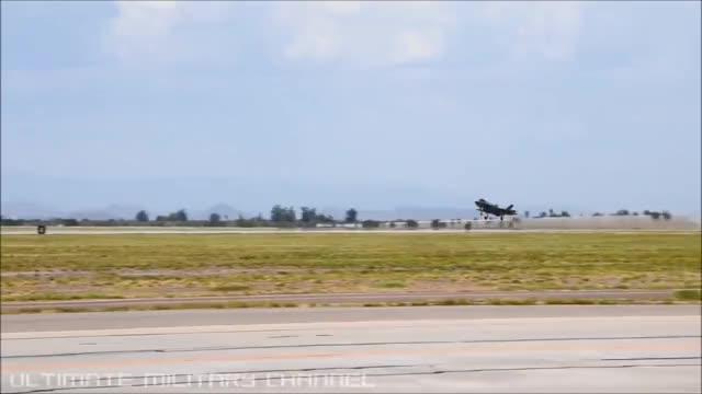 拔地而起的美军第五代战机!
