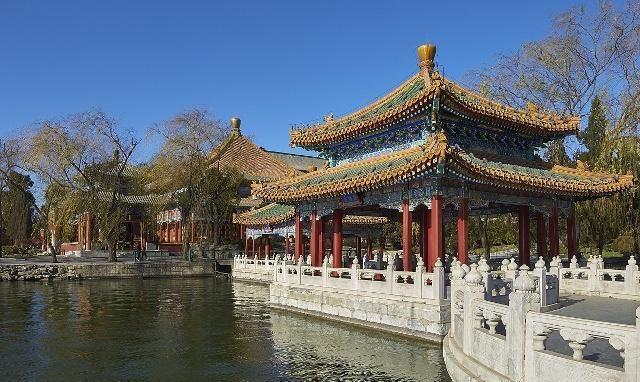 真美,北京北海公园