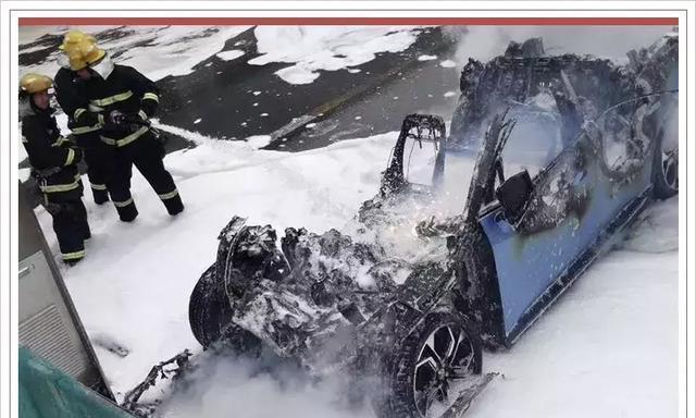行驶时起火几率最高?你还敢买新能源车吗?