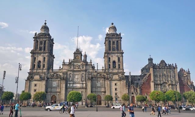 拉美最大的天主教堂,竟建在阿兹特克神庙上,历时250年才完工
