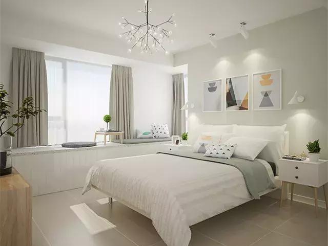 这样的卧室,谁能不爱?舒适又减压