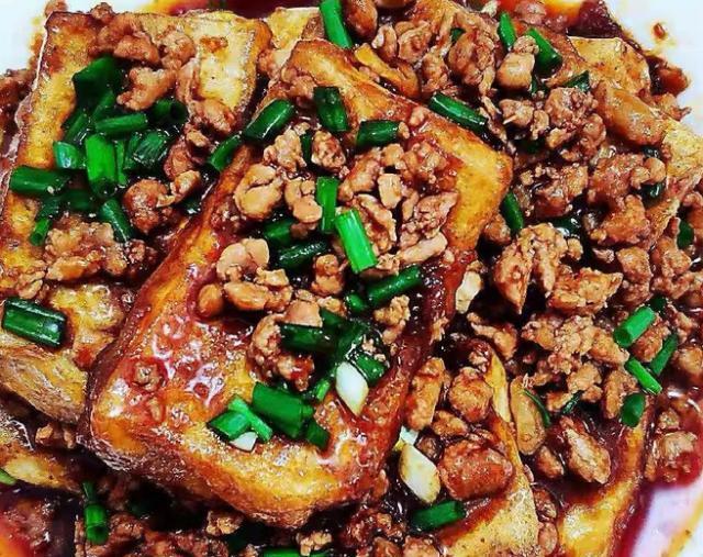 大叔家的山东菜:锅塌豆腐,香气扑鼻,鲜嫩味美,家人爱吃