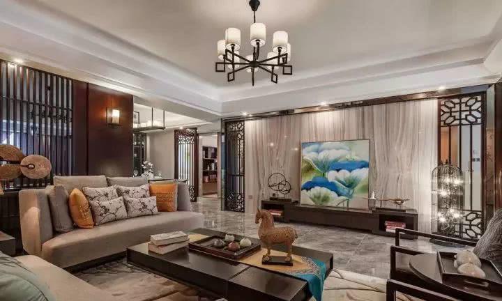 四室两厅中式风大宅,多种典雅元素打造经典气息!