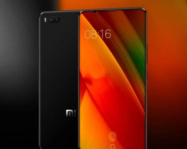小米手机7最新渲染照:屏幕指纹+结构光人脸识别,米粉们就等这个