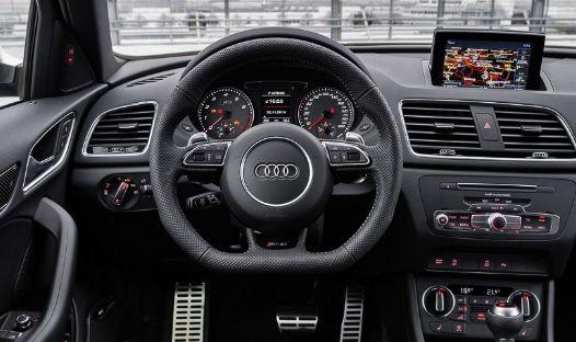 奥迪RS Q3,这辆汽车性价比很高,有实力的小伙伴