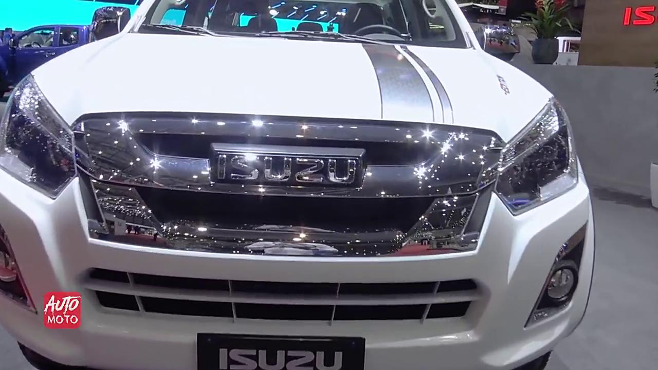 视频:新款五十铃D-Max亮相车展,内饰有很大提升