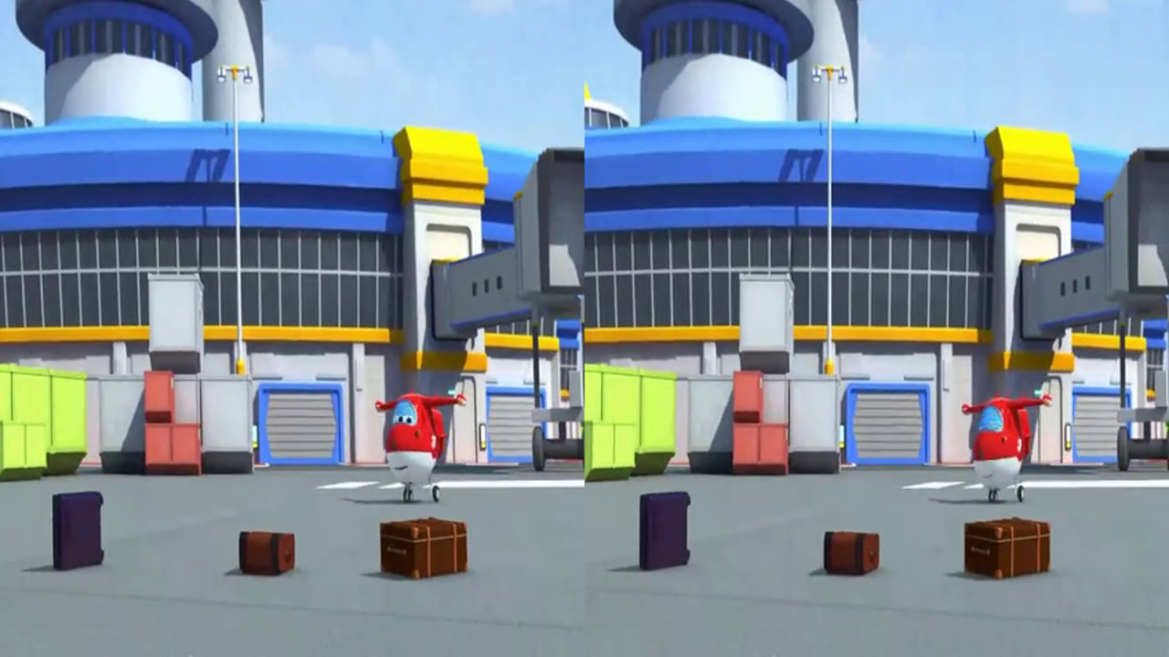 VR视频3D版超级飞侠动画片,乐迪今天将飞向北美洲的墨西哥