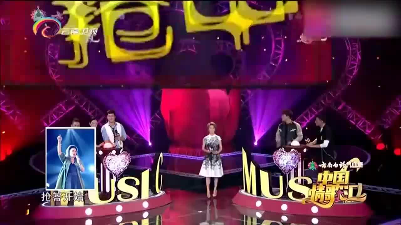 中国情歌汇黄绮珊与搭档获得胜利用歌声来庆祝胜利的喜悦