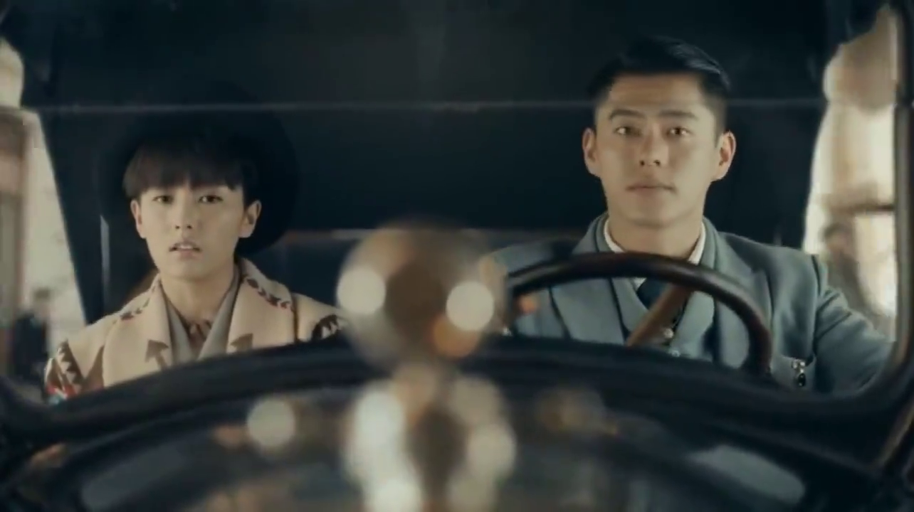 《烈火军校》沈君山开车送谢良辰回去,并把这件事儿告诉了他