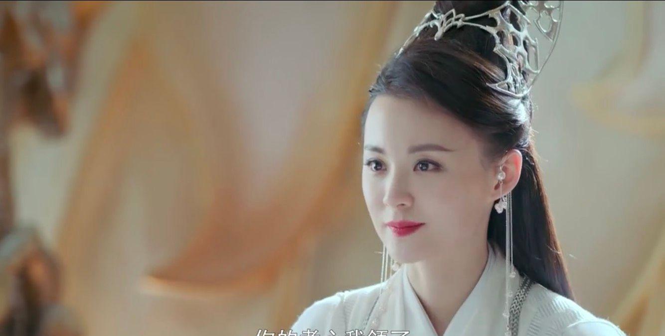 《绝代双骄》毛林林饰演的邀月宫主也太好看了,就连口红都那么美