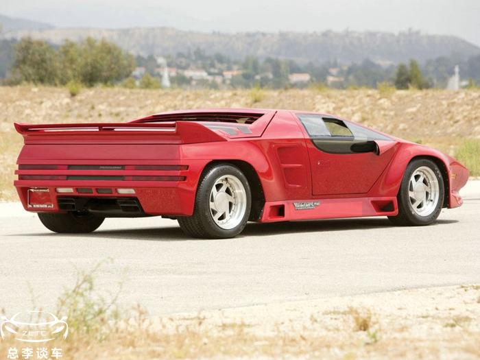 """美国历史上首款""""航天科技""""跑车,性能超F40,外形酷似兰博基尼"""