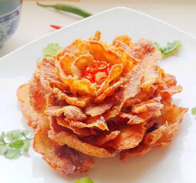 推荐一道富贵菜,牡丹鱼片的做法,过年做给家人吃最赞啦