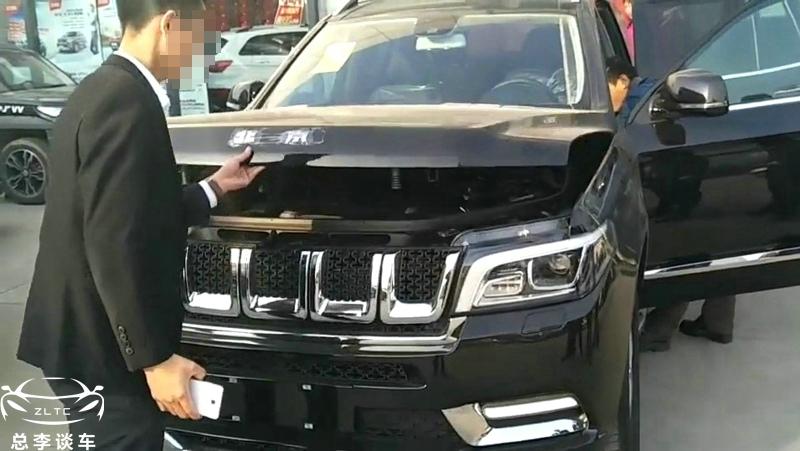 国产豪华SUV,每次介绍车,要先打开引擎盖,否则别人会质疑你