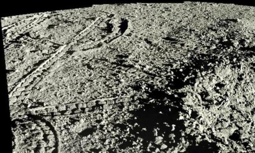 天文界轰动!我国嫦娥四号公布一年来的月球背面照片!