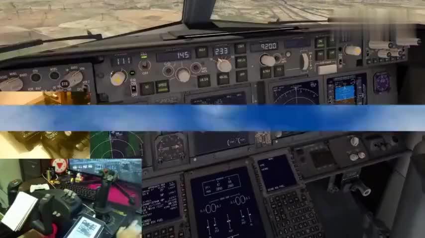 机长视角:驾驶波音737客机降落在西宁机场,错过安全着陆区
