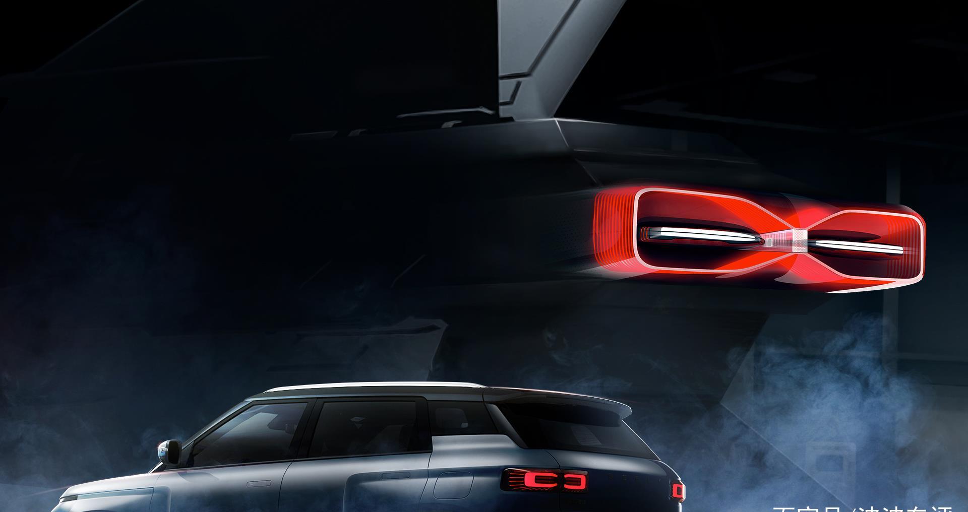 吉利全新紧凑型SUV命名为icon,外观采用很硬派的设计