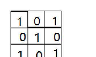 每天五分钟计算机视觉:单通道的卷积神经网络的卷积是如何计算的