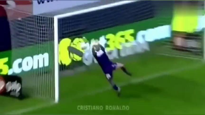 足球:世界足球先生罗纳尔多,进球的精彩瞬间!