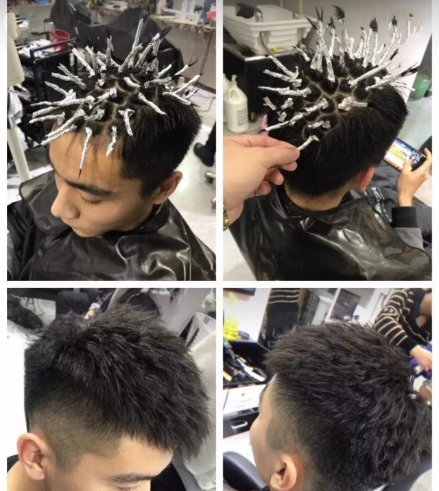"""发型技术:""""渣男""""锡纸烫该怎么做?今年超级火!这种脸型图片"""