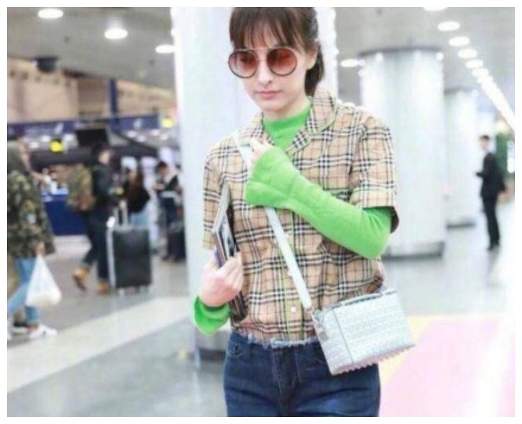 吴昕回应在机场的造型被吐槽,不过我还是觉得第四张更雷人!